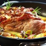 Rôti de porc en cocotte au four